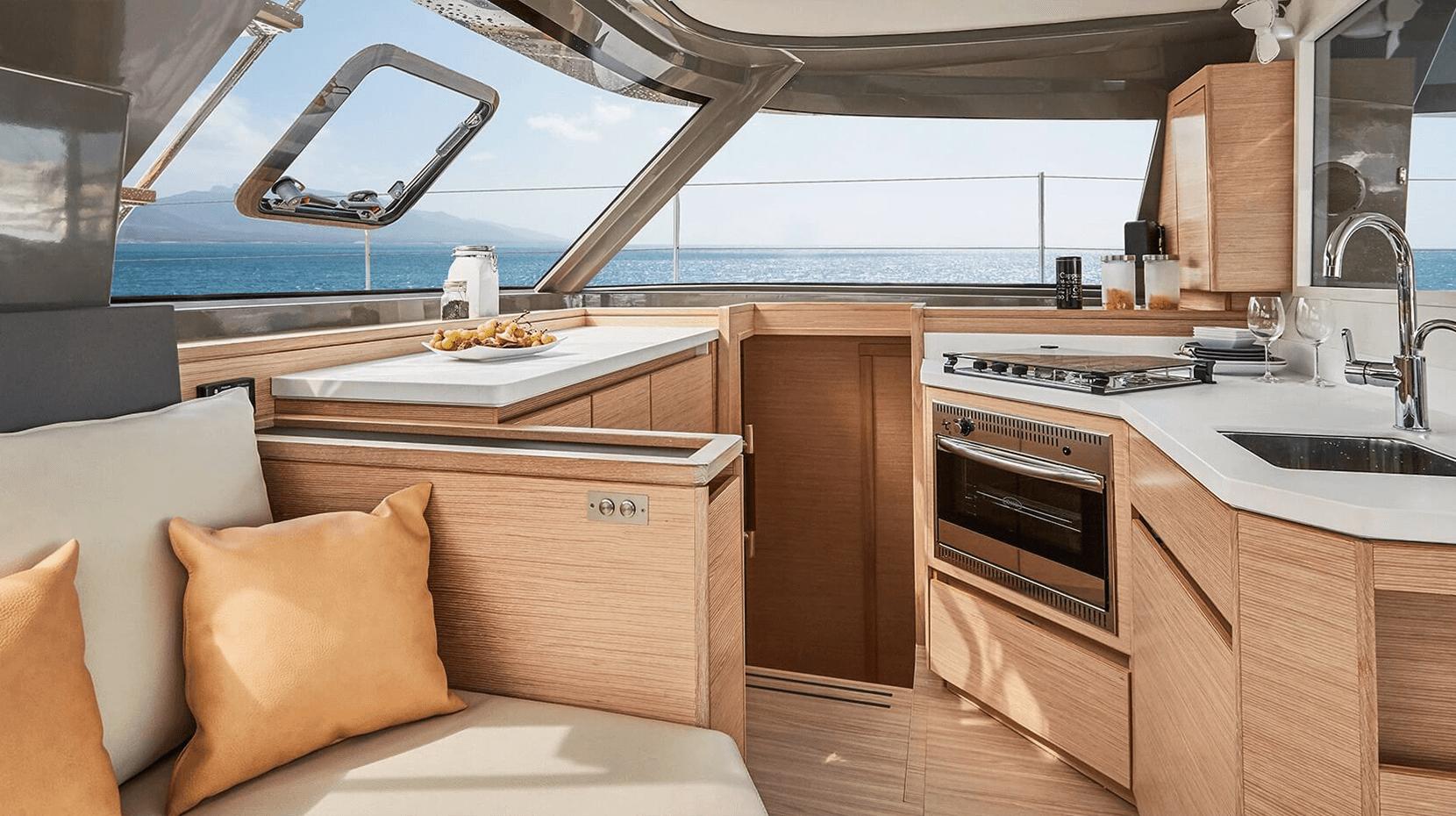 yacht interior